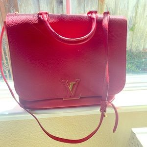 Louis Vuitton Red Messenger bag Strap inc